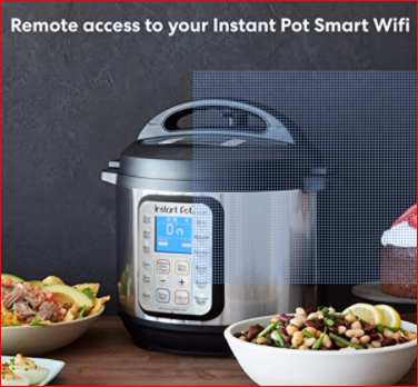 instant pot smart electric cooker with wifi