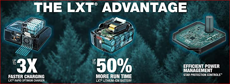 LXT battery advantages